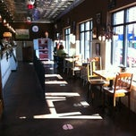 Photo taken at The Comfy Cow by Amy W. on 2/20/2012