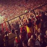 Photo taken at Koning Boudewijnstadion / Stade Roi Baudouin by Arnaud V. on 6/7/2013