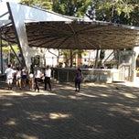 Photo taken at Praça Da Matriz by Ephigênio J. on 5/4/2013