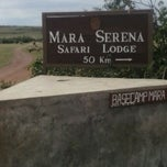Photo taken at Masai Mara Airstrip by Msee M. on 12/25/2012