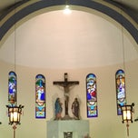 Photo taken at Church of Our Lady of Sorrows by Ana L. on 3/22/2015