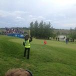 Photo taken at Golfklúbbur Kópavogs og Garðabæjar (GKG) by Jón H. on 7/27/2014