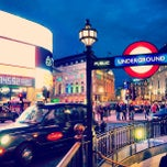 Photo taken at Piccadilly Circus by wkBeh on 5/29/2013