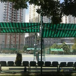 Photo taken at Phú Thọ tennis club by Kiddo T. on 2/3/2013