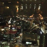 Photo taken at Sky view -Blue chip by 白峻昊 on 3/13/2013