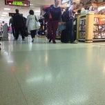 Photo taken at Concourse B by Daniel E. on 10/11/2013