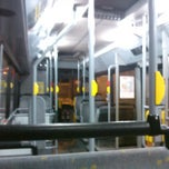 Photo taken at Bus 49 Herzele - Gent Sint-Pieters by Pieter D. on 2/24/2013