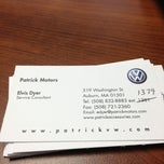 Photo taken at Patrick Volkswagen by Karen G. on 6/4/2013