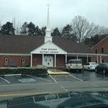 Photo taken at Pump Springs Baptist Church by David S. on 2/2/2013