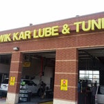 Photo taken at Kwik Kar by Mike on 12/15/2012