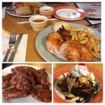 Photo taken at Swiss Chalet by Kathy N. on 6/8/2014