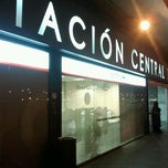 Photo taken at Estación Central de Autobuses by Andres M. on 2/14/2013