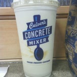 Photo taken at Culver's by Kari D. on 4/16/2013