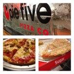 Photo taken at Pie Five Pizza Co. by Elysa E. on 12/23/2012