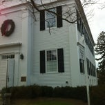 Photo taken at Newtown Meeting House by Koryne B. on 12/23/2012