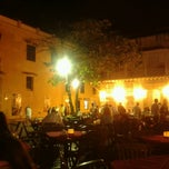 Photo taken at Plaza Santo Domingo by Harry on 2/4/2013