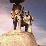 Photo taken at Tugu Kolongan Atas by Jener R. on 1/3/2013
