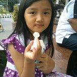 Photo taken at Sri Ratu Kediri by Deny Z. on 4/20/2014
