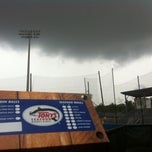 Photo taken at Lee-Hines Field by Matthew J. on 4/30/2013