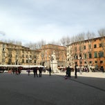 Photo taken at Piazza Napoleone by James M. on 4/6/2013