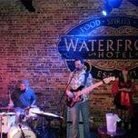 Photo taken at Waterfront Hotel by Garrett H. on 11/2/2013