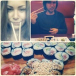 Photo taken at Banzai Sushi by Anna P. on 1/20/2013