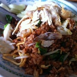 Photo taken at Nasi sayur 'Pak Djo' by Carolina H. on 12/28/2012