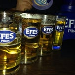 Photo taken at Efes Garden Pub by Mehmet Ali S. on 11/12/2013