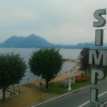 Photo taken at Hotel Simplon - Lago Maggiore, Italy by Gabriele P. on 9/23/2012