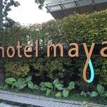 Photo taken at Hotel Maya by Nicky L. on 5/1/2013