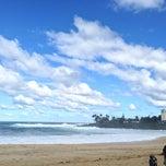 Photo taken at Waimea Bay by Alex P. on 1/18/2013