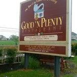 Photo taken at Good 'N Plenty Restaurant by Mary E. on 7/12/2013