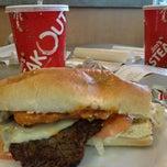 Photo taken at Jim's Steakout by Lydia K. on 1/21/2013