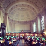 Photo taken at Boston Public Library by Savannah G. on 1/19/2013