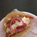 Photo taken at Tacos Ensenada by Samantha M. on 10/6/2014