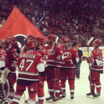 Photo taken at PNC Arena by Rachel H. on 4/14/2013