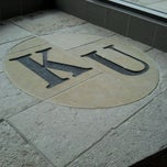Photo taken at Kansas Union by Katie O. on 1/27/2012