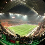 "Photo taken at Stadio San Siro ""Giuseppe Meazza"" by Barsukss on 2/15/2013"