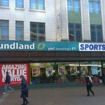 Photo taken at Poundland by Tony S. on 10/30/2013