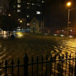 Photo taken at Frankenstorm Apocalypse - Hurricane Sandy by Julian E. on 10/29/2012