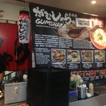 Photo taken at Gumshara Ramen (がむしゃら ラーメン) by Missy L. on 4/14/2013