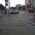 Photo taken at Остановка (Варшавская) by Алексей Ф. on 6/22/2013