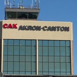 Photo taken at Akron-Canton Airport (CAK) by Jaineen B. on 11/22/2012