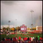 Photo taken at Ed Weir Track & Soccer Stadium by Brett M. on 11/1/2013