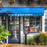 Photo taken at hope & grace Wines by hope & grace Wines on 10/2/2013