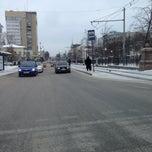 Photo taken at Остановка «Сакко и Ванцетти» by Павел В. on 1/21/2014