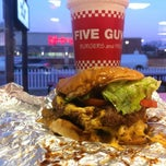 Photo taken at Five Guys by Henry H. on 1/22/2013