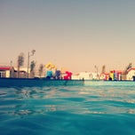 Photo taken at Blue Beach Resorts || شاليهات الشاطئ الأزرق by Ahmad A. on 5/10/2013