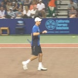 Photo taken at WTT Tennis Tournament by Jenny R. on 7/17/2013