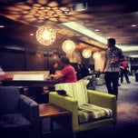 Photo taken at Air New Zealand Koru Lounge by Mary H. on 10/4/2012
